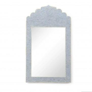 Bone Inlay Mirror Frame Handmade Inlay Furniture Bone Inlay Mirror