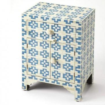 Bone Inlay Handmade Antique Home Decor Furniture Bedside