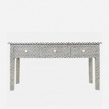 Bone Inlay Chest of Console Table Handmade Antique Furniture