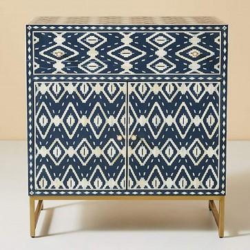 Handmade Bone Inlay Wooden Modern Pattern Sideboard Furniture