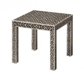 MOP Inlay Wooden Modern Antique Handmade End table Furniture
