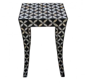 Mother of Pearl Inlay Handmade End table Home Decor Furniture Art