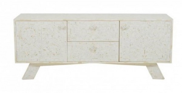 Handmade Bone Inlay Sideboard