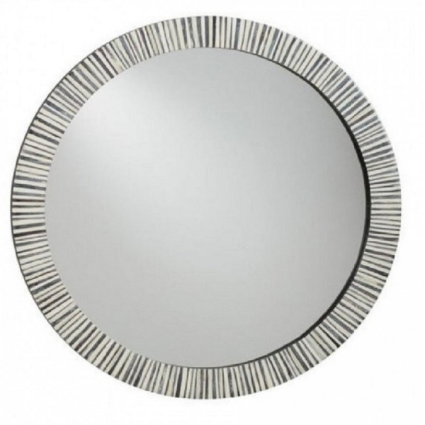 Handmade Bone Inlay Mirror