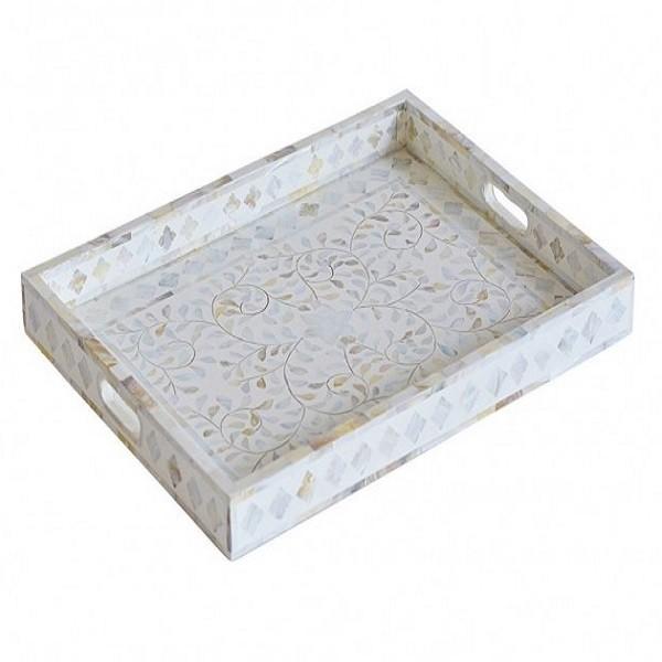 Handmade Bone Inlay Tray