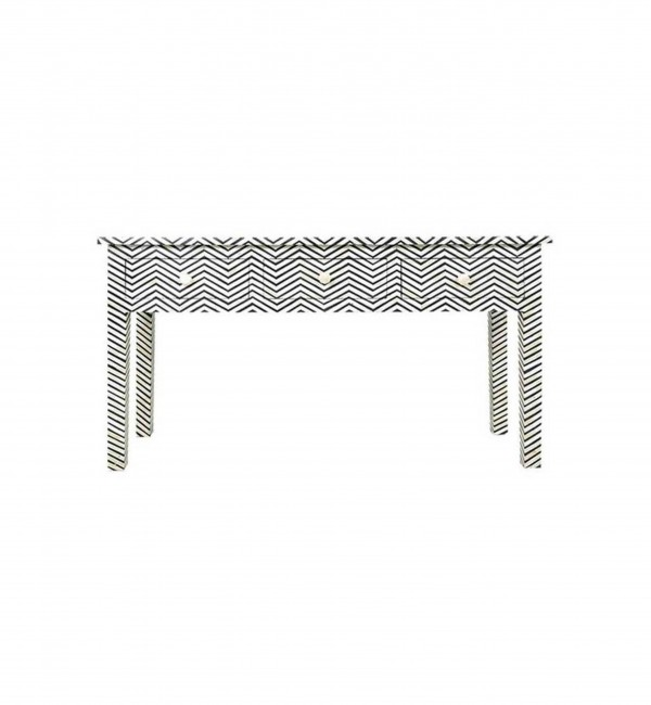 Handmade Bone Inlay Chest of Console Table Furniture