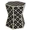 Bone Inlay Wooden Modern Antique Handmade End table Furniture